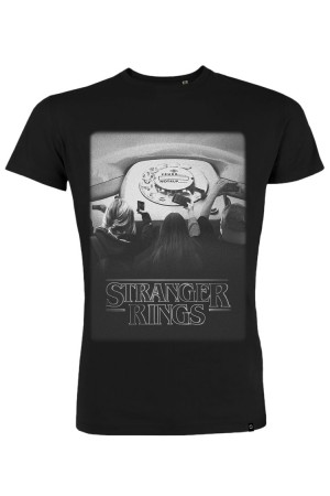 Camiseta NUM wear STRANGER RINGS color Black