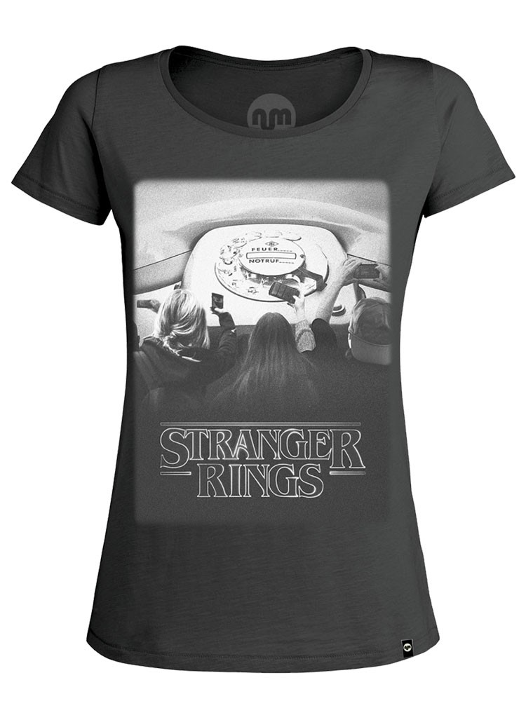 Camiseta NUM wear Mujer STRANGER RINGS color Anthracite