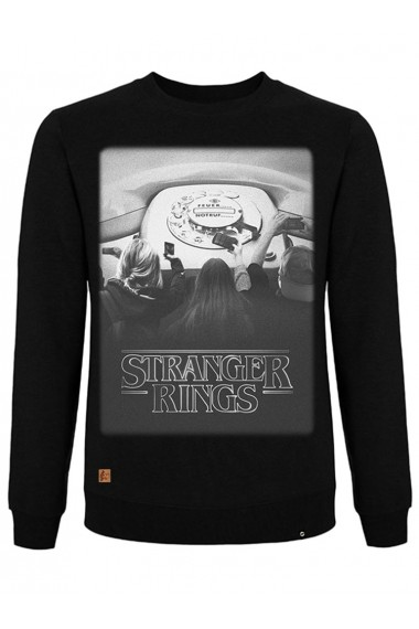Sudadera NUM wear STRANGER RINGS unisex color Black