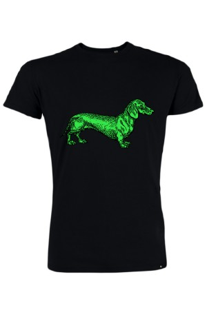 Camiseta NUM wear GREEN DOG color Black