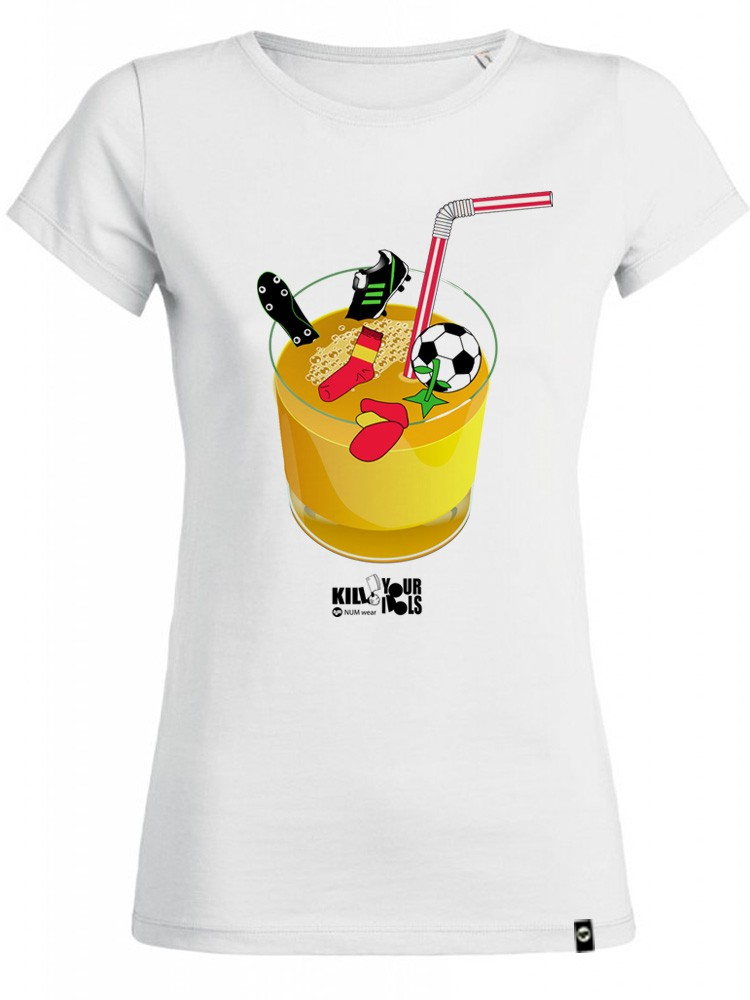 Camiseta NUM wear Mujer JUICE82 color White