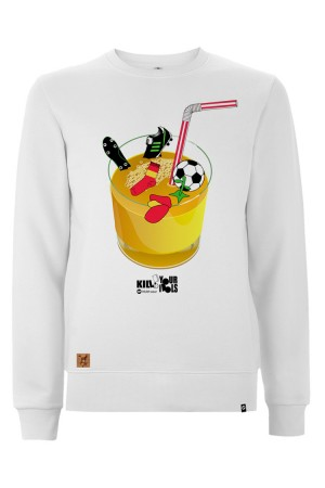 Sudadera NUM wear JUICE82 unisex color White