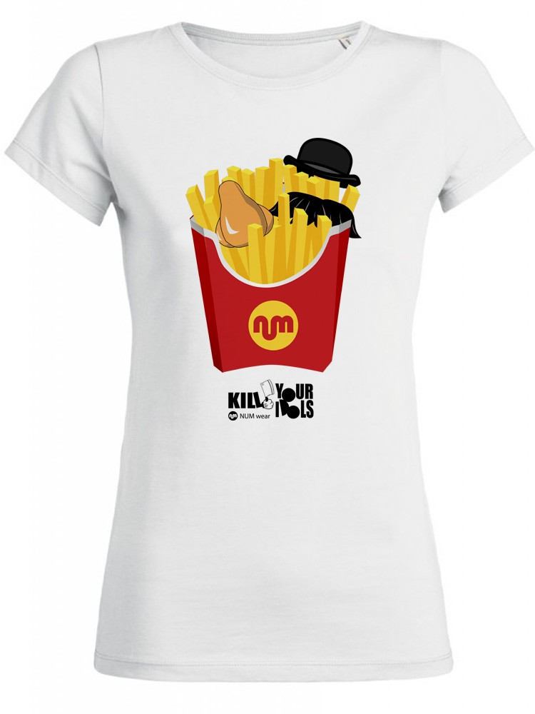 Camiseta NUM wear Mujer McNUM color White