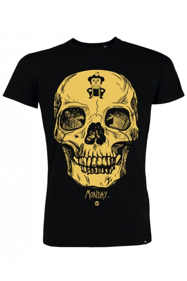 Camiseta NUM wear MONDAY color Black