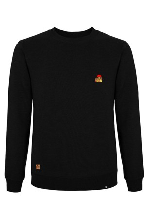 Sudadera NUM wear Unisex HO BORDADO color Black