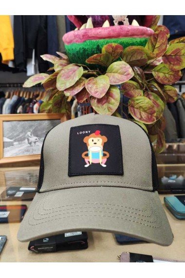 Gorra parche LOONY Olive NUM wear
