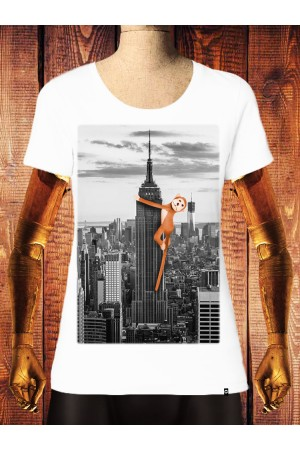 Camiseta NUM wear Mujer HUG color White