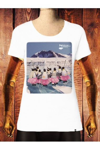 Camiseta NUM wear Mujer CLUMSY COMPANY color White