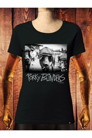 Camiseta NUM wear Mujer PORKY BLINDERS color Black