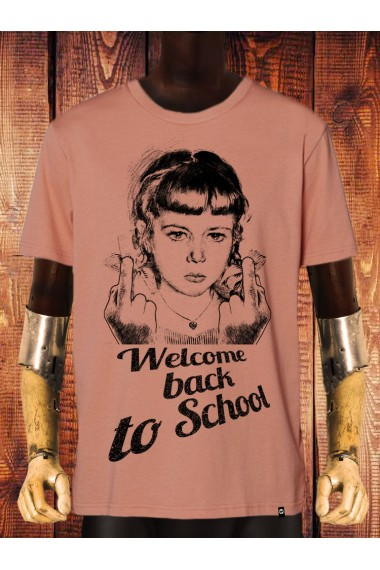 Camiseta NUM wear WELCOME BACK II color ROSE