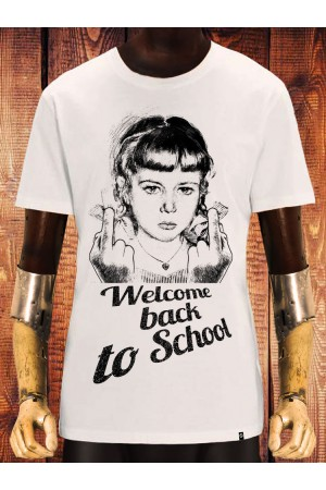 Camiseta NUM wear WELCOME BACK II color OFF WHITE