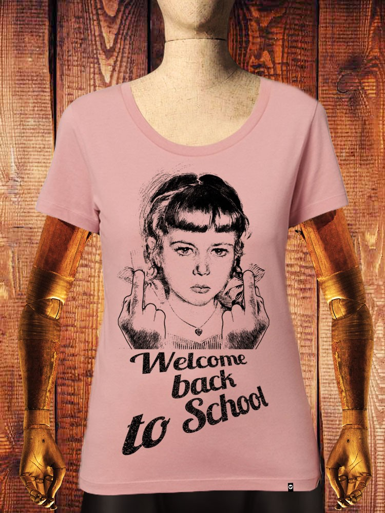 Camiseta NUM wear Mujer WELCOME BACK II color C. PINK