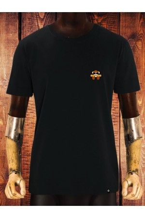 Camiseta NUM wear BAMNANAS Bordado hombre color Black