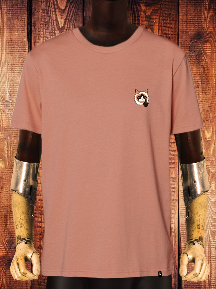 Camiseta NUM wear GRUMPY Bordado hombre color ROSE