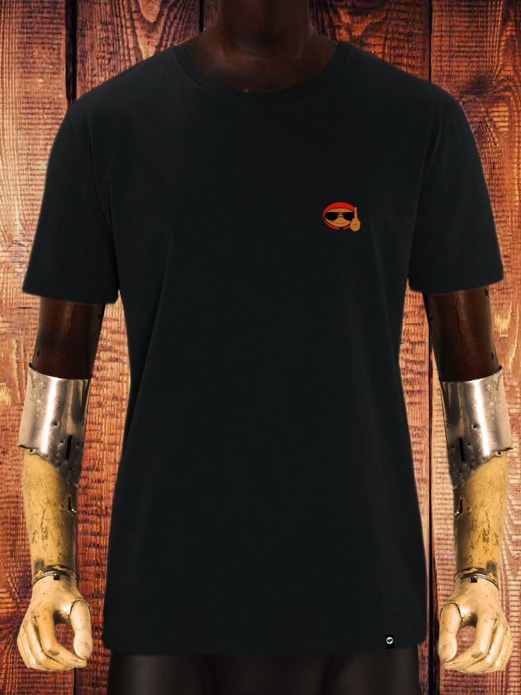 Camiseta NUM wear GO HOME Bordado hombre color Black