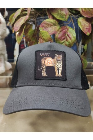 Gorra parche SWEET KITTY Dark Grey NUM wear