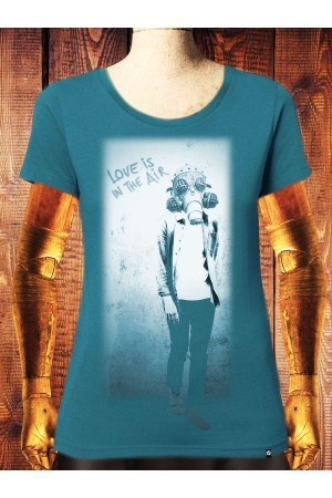 Camiseta NUM wear Mujer LOVE color OCEAN