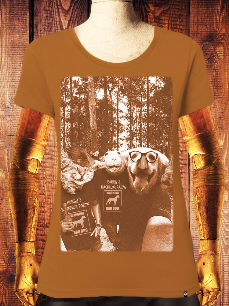 Camiseta NUM wear Mujer FRIENDS color R. ORANGE