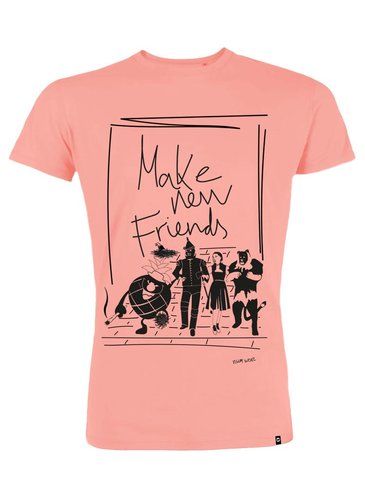 Camiseta hombre NUM wear FRIENDS color Coral